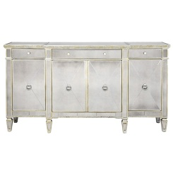 Borghese Buffet Z Gallerie | Home Decor | Blog White LInen Interiors Miami