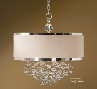 Fascination Chandelier Uttermost Chandelier | Home Decor | Blog White Linen Interiors Miami