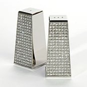 Bling Salt & Pepper Shaker Z Gallerie | Blog White Linen Interiors Miami