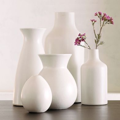 image white ceramic vases decor ideas