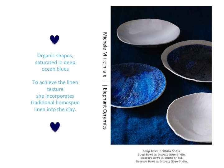 Indigo Blue { Mondays Hues } | White Linen Interiors