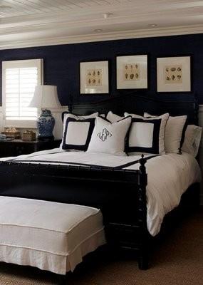 Dark walls bedroom ideas