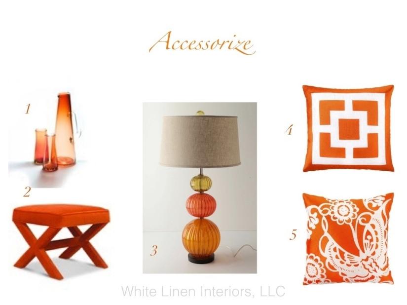 Accesories   Tangerine