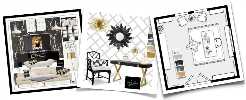 Interior Design Concept Board By White Linen Interiors Dot Net