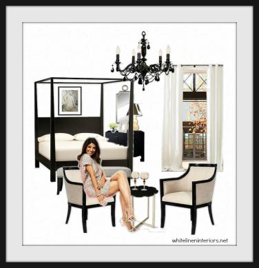 Neutrual Color Bedroom Home Decor Ideas e-Design MoodBoard