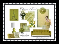 Tropical Home Decor Ideas e-Design MoodBoard