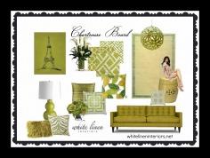 Tropical Home Decor Ideas e-Design MoodBoard