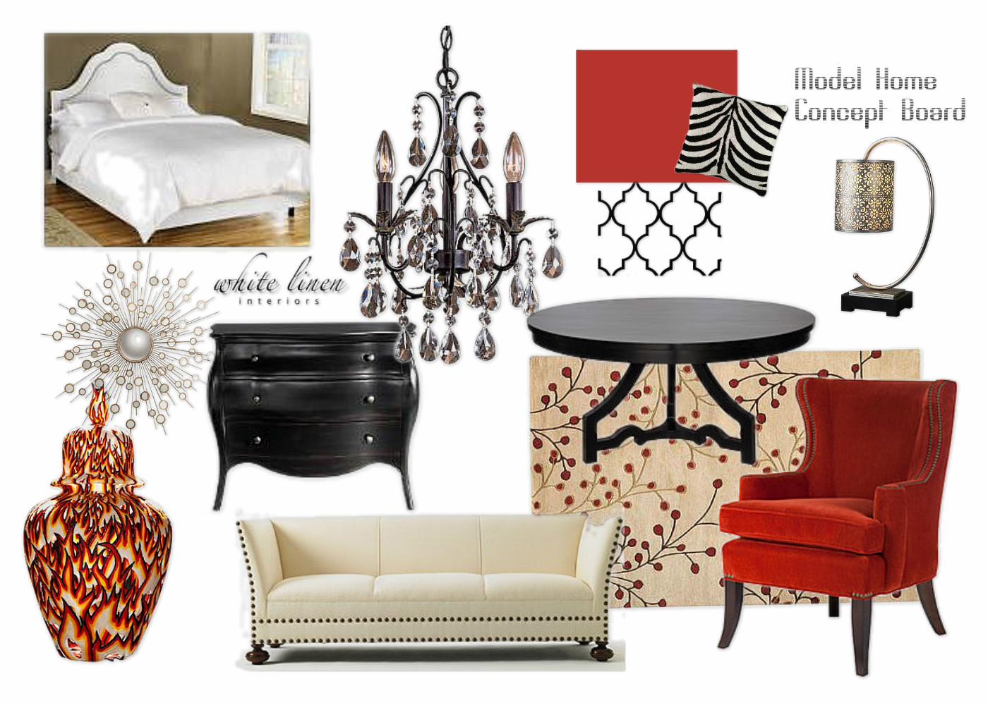 Gallery of Idea Decor Boards | 8/02/12 – White Linen Interiors