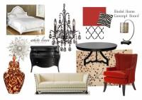 Model Home Concept Board Ana D Then | Blog White Linen Interiors Miami
