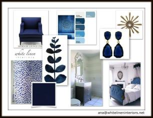 Nautical Styl Home Decor Ideas e-Design Mood Board