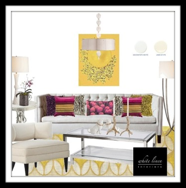 Contemporary Style Living Room