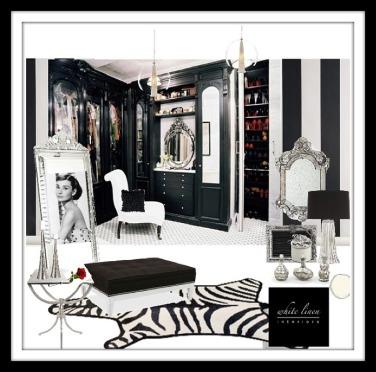 Hollywood Glam Dressing Room