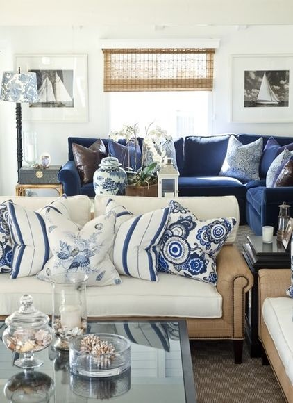 COASTAL STYLE IN CLASSIC WHITE AND NAVY PINTEREST COASTAL STYLE BOARD WLI