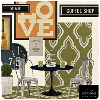 Decorating ideas for a small coffee shop
