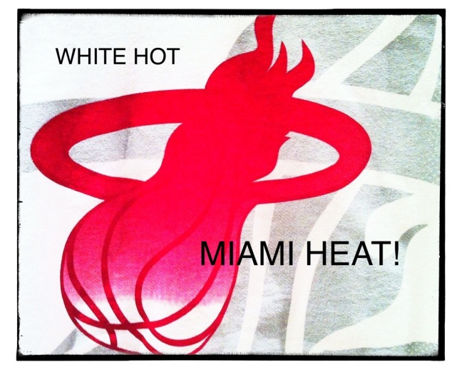 White Hot! Goooo Miami Heat!!