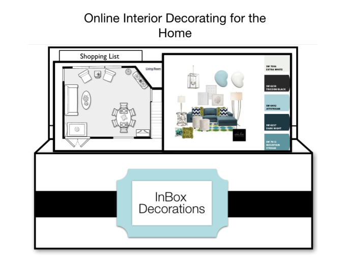 Ana's Affordable Interior Decorating Services E-Designs